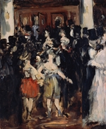 Manet, Édouard - Masked Ball at the Opera