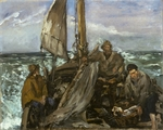 Manet, Édouard - The Toilers of the Sea