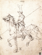 Dürer, Albrecht - Lancer on Horseback