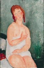 Modigliani, Amedeo - Young Woman in a Shirt