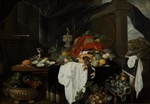 Benedetti, Andries - Pronk Still Life with Fruit, Oyters, and Lobsters