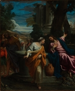 Carracci, Annibale - Christ and the Samaritan Woman