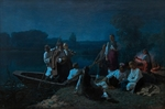 Trutovsky, Konstantin Alexandrovich - The night before Pentecost in the Ukraine