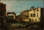 Canaletto - Lock near Dolo