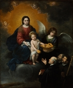 Murillo, Bartolomé Estebàn - The Infant Christ Distributing Bread to the Pilgrims