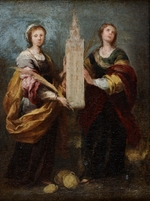 Murillo, Bartolomé Estebàn - Saints Justa and Rufina