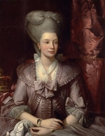 West, Benjamin - Queen Charlotte of the United Kingdom (1744-1818)