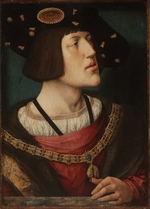 Orley, Bernaert, van - Portrait of Charles V of Spain (1500-1558)