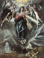 Theotokopoulos, Jorge Manuel - The Immaculate Conception