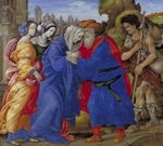Lippi, Filippino - Meeting of Saints Joachim and Anne at the Golden Gate