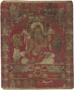 Tibetan culture - Green Tara Thangka