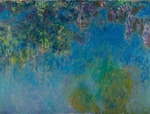 Monet, Claude - Wisteria