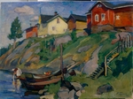 Braz, Osip Emmanuilovich - A country village in Finland