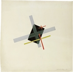 Moholy-Nagy, Laszlo - Collage With Black Centre