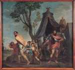 Poussin, Nicolas - Camillus and the Schoolmaster of Falerii