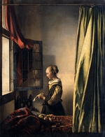 Vermeer, Jan (Johannes) - Girl Reading a Letter by an Open Window
