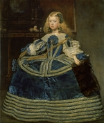 Velàzquez, Diego - Infanta Margarita Teresa (1651-1673) in a Blue Dress