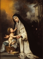 Murillo, Bartolomé Estebàn - Saint Rose of Lima