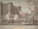Anonymous - The Storming of the Bastille on 14 July 1789