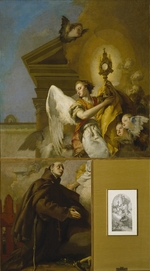 Tiepolo, Giambattista - The Vision of Saint Paschal Baylon