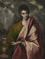 El Greco, Dominico - Saint John the Evangelist