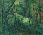 Cézanne, Paul - Interior of a forest