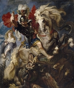 Rubens, Pieter Paul - Saint George and the Dragon