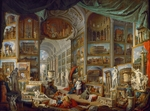 Pannini (Panini), Giovanni Paolo - Picture Gallery with Views of Ancient Rome (Roma Antica)