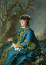 Nattier, Jean-Marc - Louise Élisabeth of France (1727-1759), Duchess of Parma