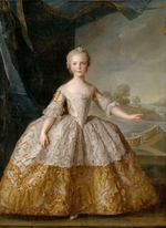 Nattier, Jean-Marc - Princess Isabella of Parma (1741-1763) as child