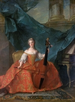 Nattier, Jean-Marc - Princess Anne Henriette of France (1727-1752)