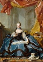 Nattier, Jean-Marc - Princess Marie Adélaïde of France (1732-1800)