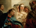 Tiepolo, Giambattista - Christ and the Woman Taken in Adultery