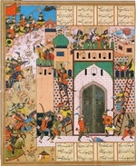 Iranian master - Shah Anushirvan Captures the Fortress of Saqila