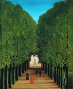 Rousseau, Henri Julien Félix - The Avenue in the Park at Saint Cloud