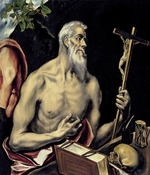 El Greco, Dominico - The Repentant Saint Jerome