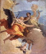 Tiepolo, Giambattista - Allegory of Virtue and Nobility