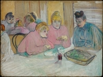 Toulouse-Lautrec, Henri, de - The Ladies in the Dining Room