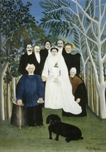 Rousseau, Henri Julien Félix - The Wedding Party