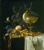 Aelst, Willem, van - Still-Life with Nautilus Cup