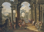 Pannini (Panini), Giovanni Paolo - The Pool of Bethesda