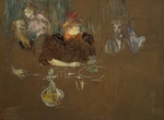 Toulouse-Lautrec, Henri, de - At the Table of Monsieur and Madame Natanson