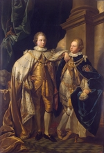 West, Benjamin - Portrait of George, Prince of Wales, and Prince Frederick, later Duke of York