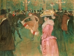 Toulouse-Lautrec, Henri, de - The Dance at the Moulin Rouge