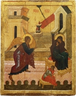 Russian icon - The Annunciation