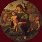 Bugiardini, Giuliano - The Holy Family with the young John the Baptist