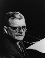 Anonymous - Portrait of the Composer Dmitri Shostakovich (1906-1975)