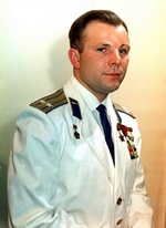 Anonymous - The cosmonaut Yuri Gagarin (1934-1968), the first human in outer space