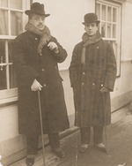Anonymous - Serge Diaghilev and Léonide Massine