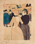 Toulouse-Lautrec, Henri, de - At the Moulin Rouge, La Goulue and her Sister (Au Moulin Rouge, La Goulue et sa sœur)